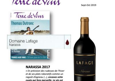 Septembre 2019: Narassa 2017