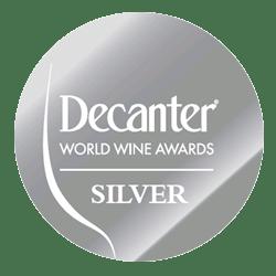 Decanter (Argent): 1 vin médaillé