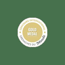 Grenache du monde (Gold): 1 awarded wine