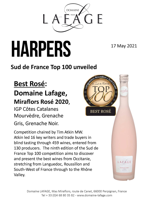 Top 100 Best rosé Lafage